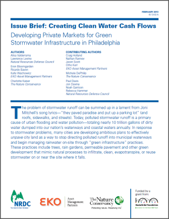 CLEAN_WATER_CASH_FLOWS