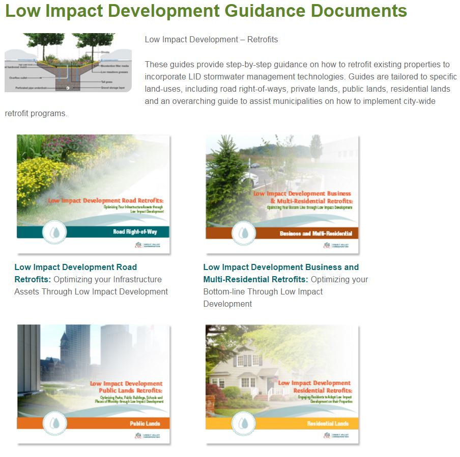 Low Impact Guidance Documents