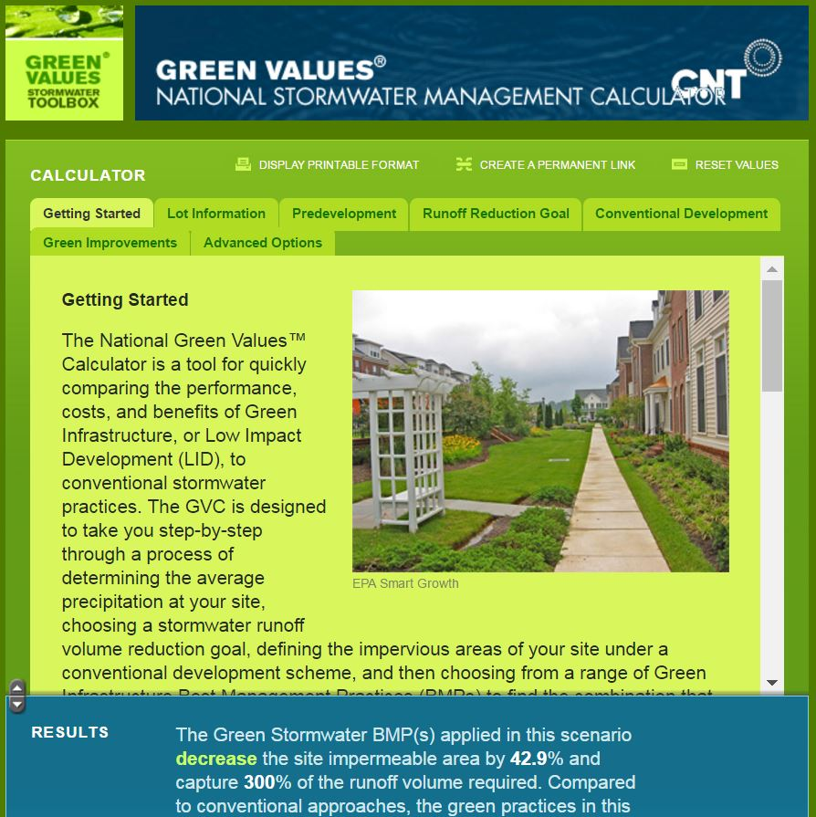 The National Green Values Calculator