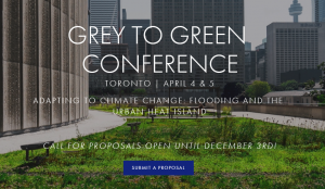Grey to Green Conference @ Holiday Inn Yorkdale