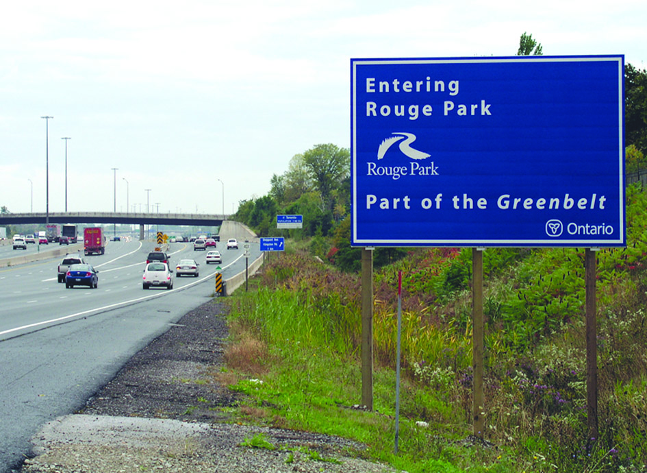 Greenbelt sign