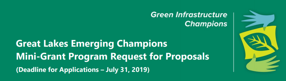 Great Lakes Emerging Champions – Mini-Grant Program