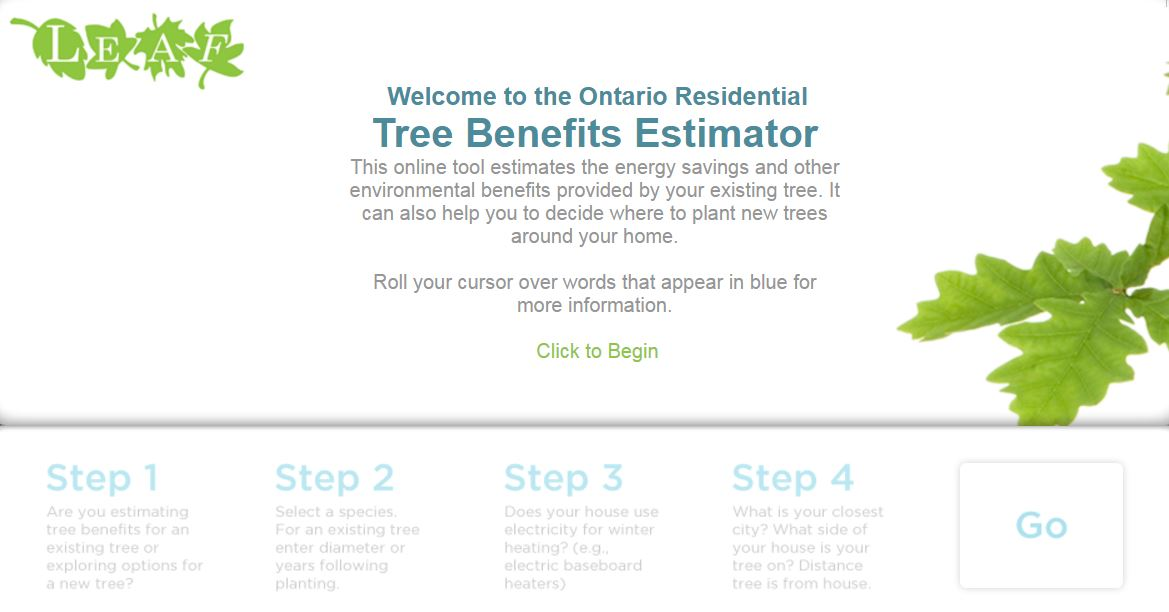 Tree Benefits Estimator